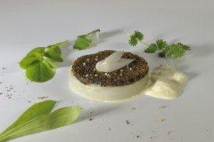 Diner des chefs Montpellier 2012 photo plat dans mobilisation oignon-truffes1-300x199